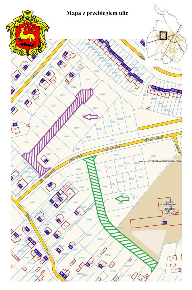 Ankieta od 17.03 2021r. do 31.03.2021r. w sprawie nadania nazwy ulicom